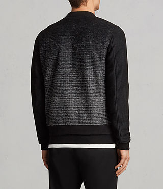 Hommes Cade Bomber (BLACK/CHARCOALGREY) - product_image_alt_text_5
