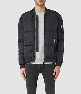 Hombres Furlough Bomber Jacket (INK NAVY)
