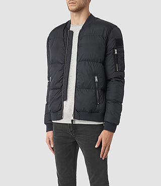 Hombre Furlough Bomber Jacket (INK NAVY) - product_image_alt_text_2