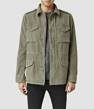 Herren Mayer Jacket (Khaki Green)
