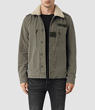 Mens Rai Jacket (Khaki Green)