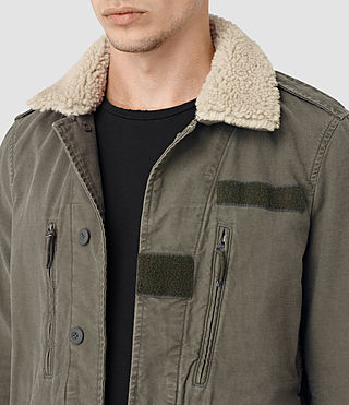 Uomo Rai Jacket (Khaki Green) - product_image_alt_text_2