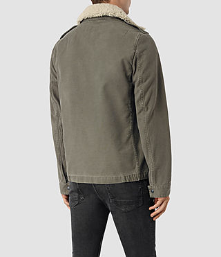 Hombres Rai Jacket (Khaki Green) - product_image_alt_text_4