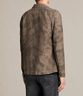 Hombres Yasuko Jacket (Khaki Brown) - product_image_alt_text_4