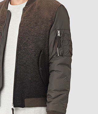 Hombre Shiro Bomber Jacket (Brown/Black) - product_image_alt_text_2