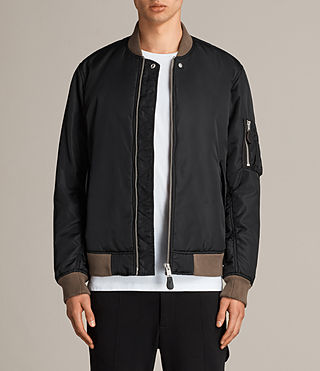 Men's Ventura Bomber Jacket (Black) - Image 1