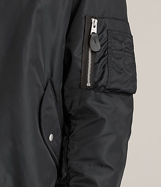 Men's Ventura Bomber Jacket (Black) - Image 6