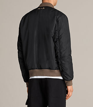 Men's Ventura Bomber Jacket (Black) - Image 8