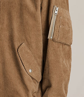 Mens Valley Bomber Jacket (Camel) - product_image_alt_text_4