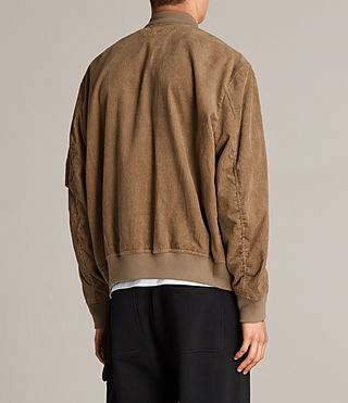 Mens Valley Bomber Jacket (Camel) - product_image_alt_text_7