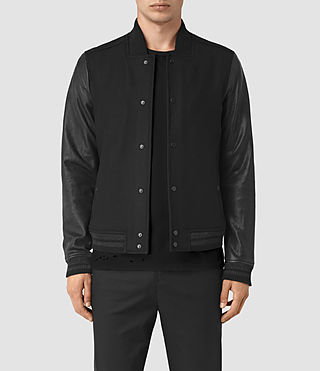 Mens Toku Bomber Jacket (Black)