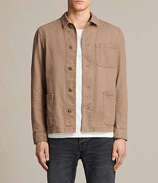 Mens Kope Jacket (EARTH ORANGE) - product_image_alt_text_1