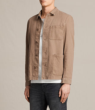 Men's Kope Jacket (EARTH ORANGE) - product_image_alt_text_3