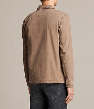 Uomo Kope Jacket (EARTH ORANGE) - product_image_alt_text_4