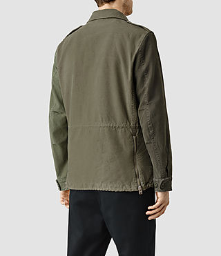 Hombre Addison Jacket (Khaki Green) - product_image_alt_text_3