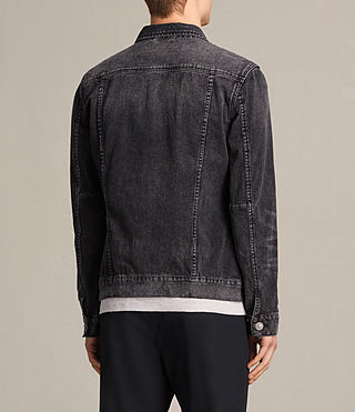 Hombres Cazadora de denim Tocander (Washed Black) - product_image_alt_text_4