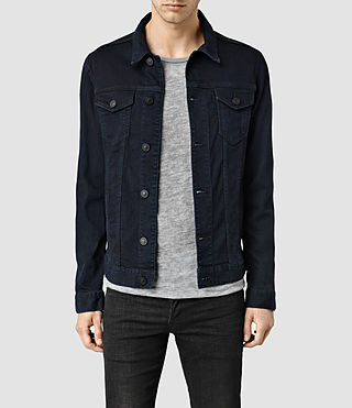 Mens Cormorant Denim Jacket (Blue/Black)