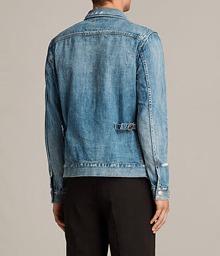 Mens Ina Denim Jacket (Indigo Blue) - Image 5