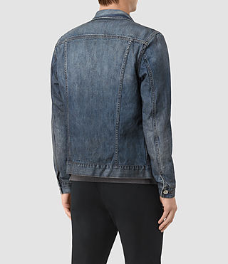 Mens Hockett Denim Jacket (Indigo Blue) - product_image_alt_text_4