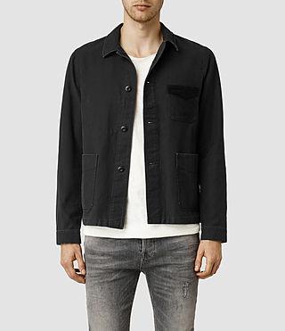 Men's Stout Jacket (Washed Black)