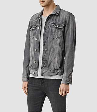 Uomo Garford Denim Jacket (Grey) - product_image_alt_text_2