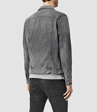 Mens Garford Denim Jacket (Grey) - product_image_alt_text_3