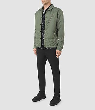 Hombre Morro Jacket (SMOKE GREEN) - product_image_alt_text_2