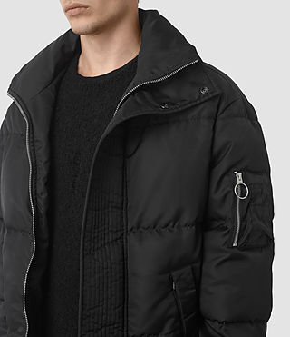 Hombres Wyatt Puffer Jacket (Black) - product_image_alt_text_2