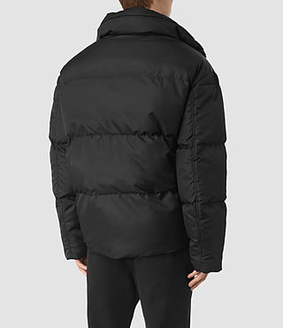 Hombres Wyatt Puffer Jacket (Black) - product_image_alt_text_4