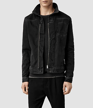 Men's Basalt Denim Jacket (Black)
