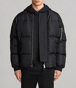 Hombre Caisey Puffa Jacket (INK NAVY) - product_image_alt_text_1