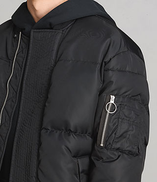 Hombre Caisey Puffa Jacket (INK NAVY) - product_image_alt_text_2