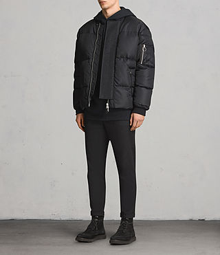Mens Caisey Puffer Jacket (INK NAVY) - product_image_alt_text_3