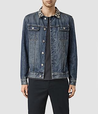 Men's Morrison Denim Jacket (LIGHT INDIGO BLUE)