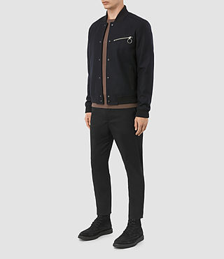 Hombres Wilkins Bomber Jacket (INK NAVY) - product_image_alt_text_2