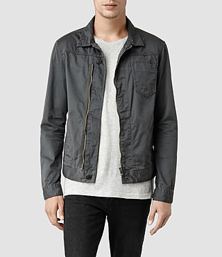 Men's Kicker Denim Jacket (Slate)
