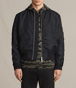 Mens Marlo Bomber Jacket (INK NAVY) - product_image_alt_text_1