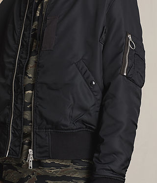 Mens Marlo Bomber Jacket (INK NAVY) - product_image_alt_text_2