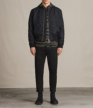 Mens Marlo Bomber Jacket (INK NAVY) - product_image_alt_text_3