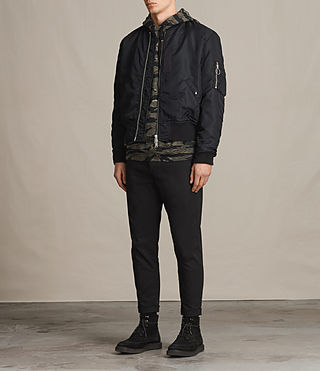 Mens Marlo Bomber Jacket (INK NAVY) - product_image_alt_text_4
