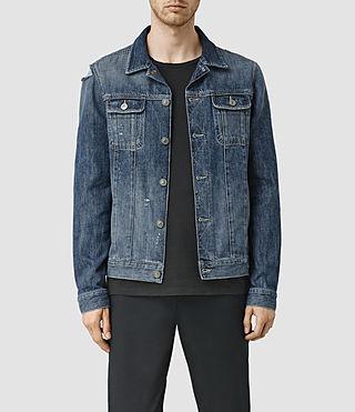 Men's Jaypee Denim Jacket (LIGHT INDIGO BLUE)