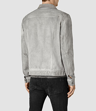 Hombre Orbital Denim Jacket (Grey) - product_image_alt_text_3