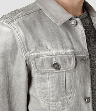 Hombre Orbital Denim Jacket (Grey) - product_image_alt_text_4