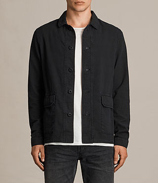 Mens Paxon Jacket (Charcoal) - product_image_alt_text_1