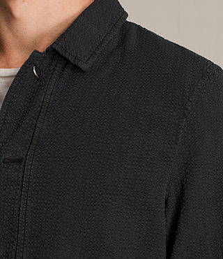 Men's Paxon Jacket (Charcoal Grey) - product_image_alt_text_2