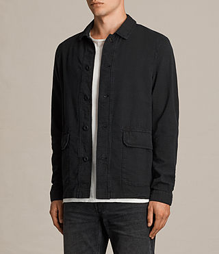 Men's Paxon Jacket (Charcoal Grey) - product_image_alt_text_3