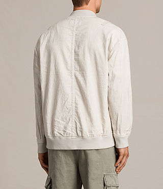 Men's Blix Bomber Jacket (WHITE SAND) - Image 4