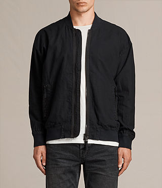 Mens Blix Bomber Jacket (Black) - product_image_alt_text_1