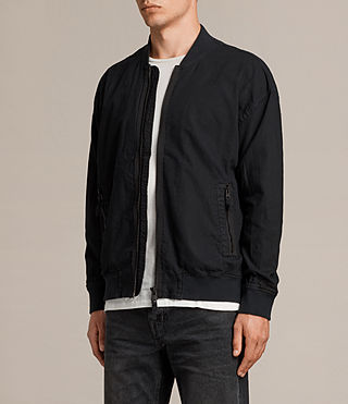 Mens Blix Bomber Jacket (Black) - product_image_alt_text_3