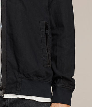 Mens Blix Bomber Jacket (Black) - product_image_alt_text_4
